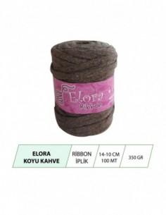 Elora Koyu Kahve Ribbon...